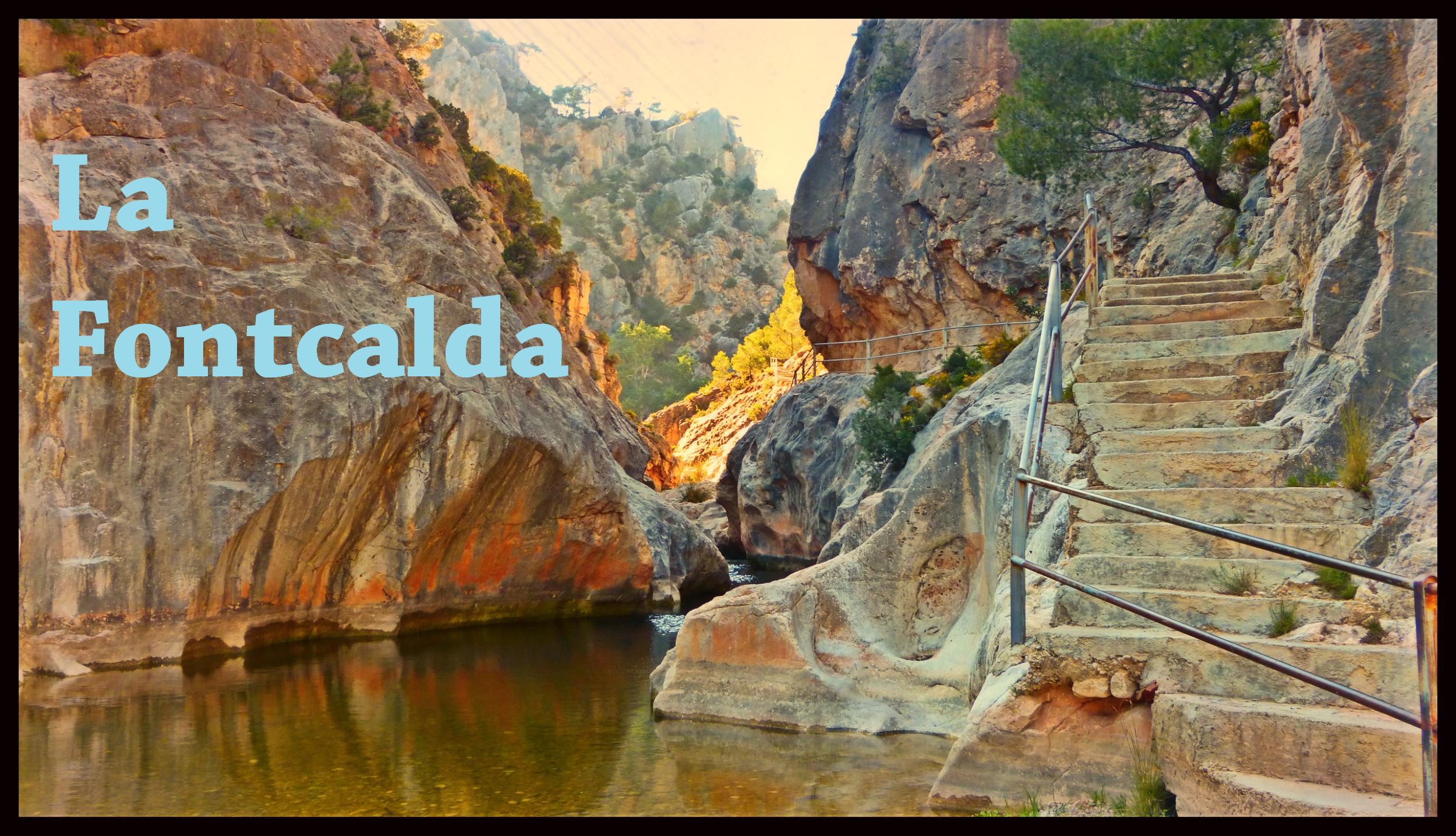 La fontcalda balneario salvaje 1 v deos tarragona for Piscina natural de fontcalda