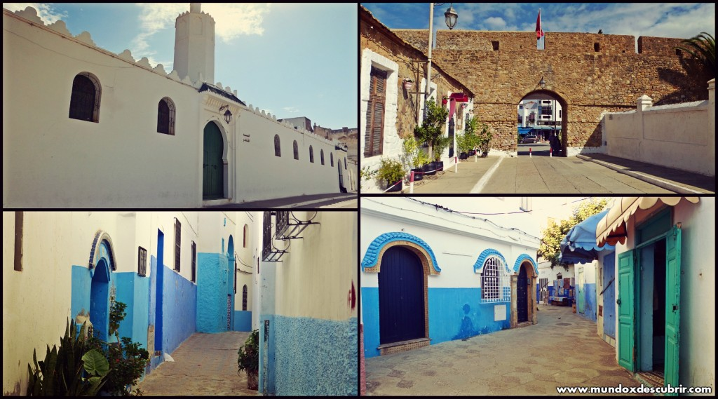 Collage calles Asilah