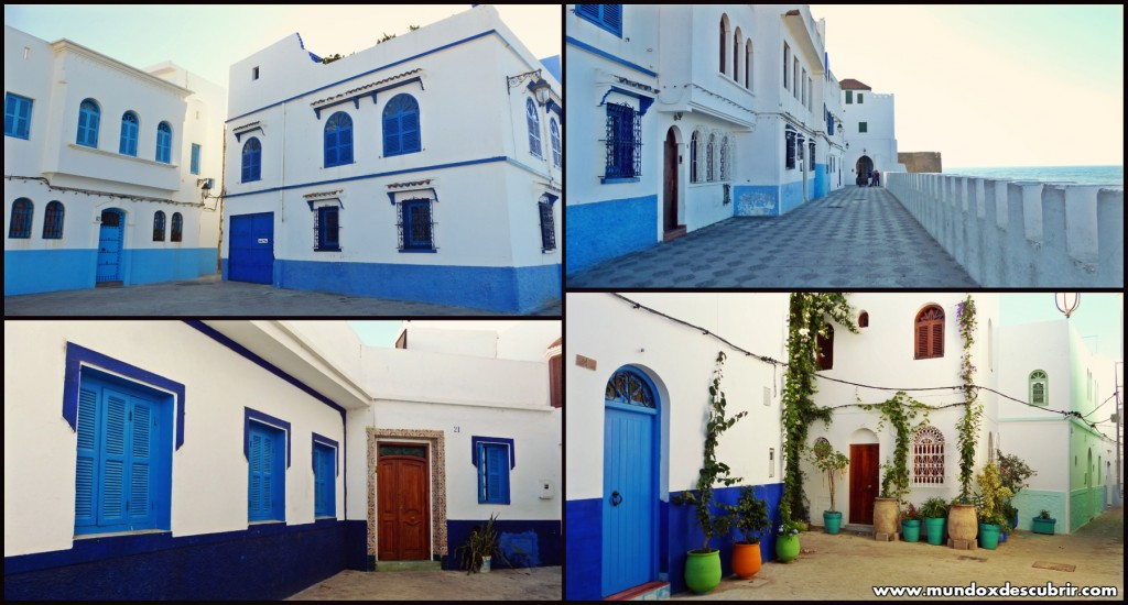 Collage calles Asilah1