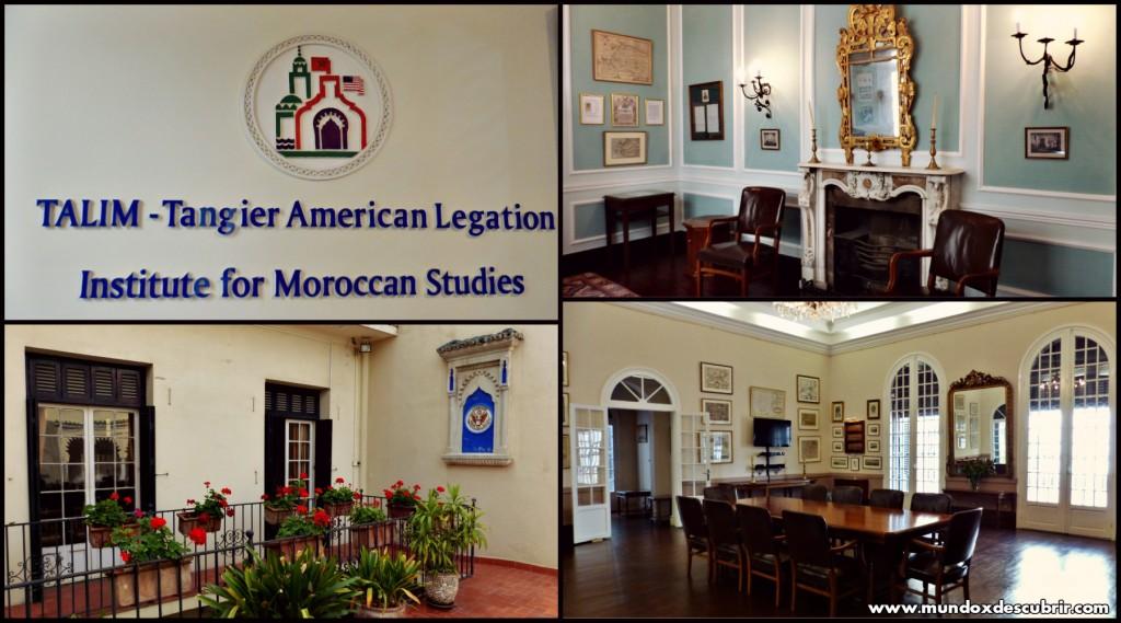Collage embajada americana