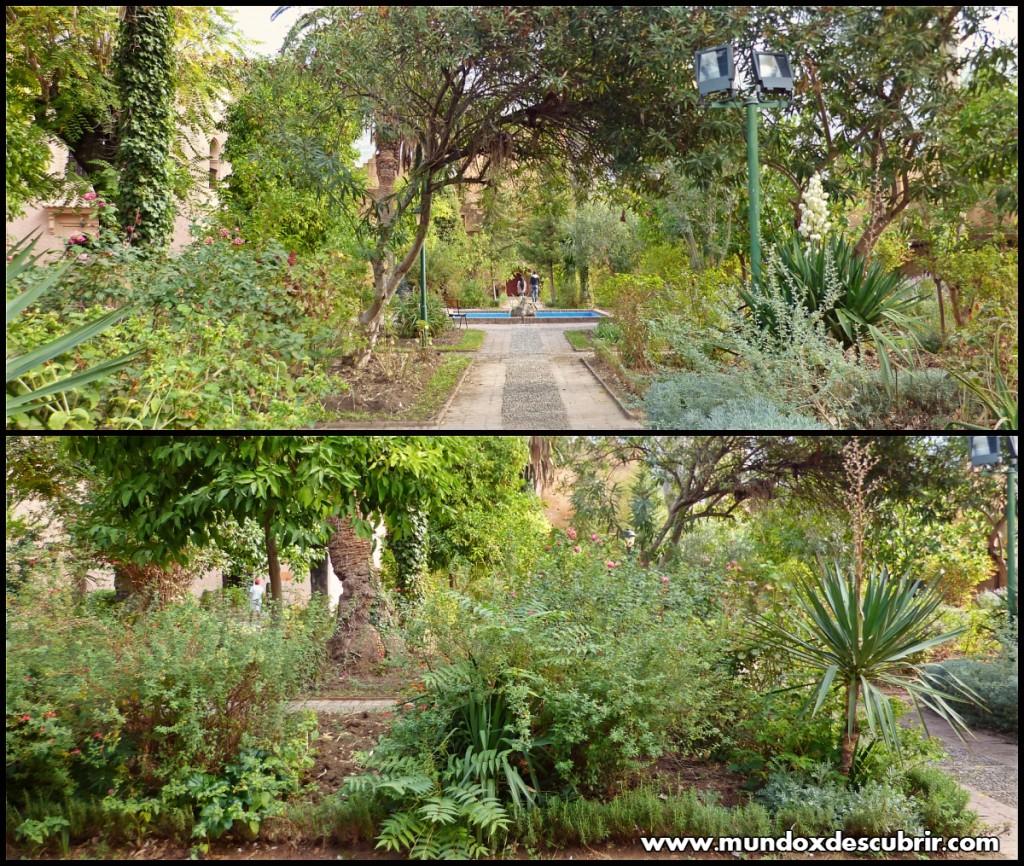 Collage jardines