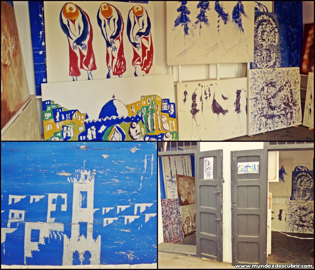 Collage pinturas