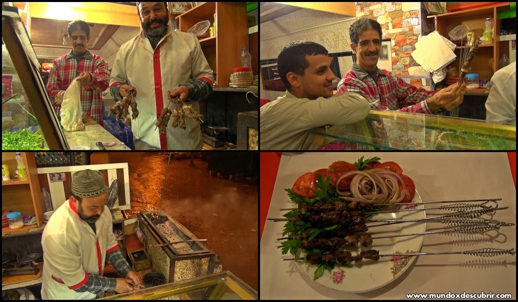 Collage restaurante Laarbi