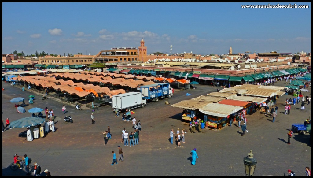 Plaza Jemma el Fna Marrakech - Marruecos