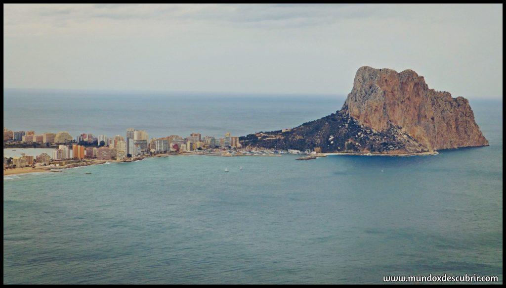 Calpe y Peñon d' Ilfach - Provincia de Alicante
