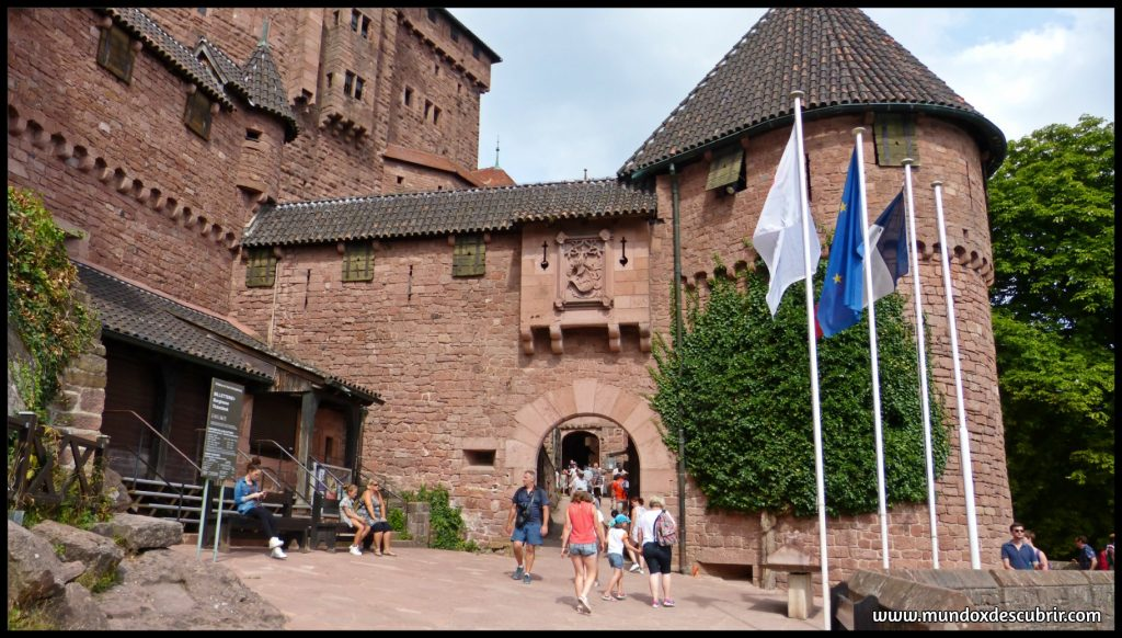 Castillo Haut Koenigsbourg