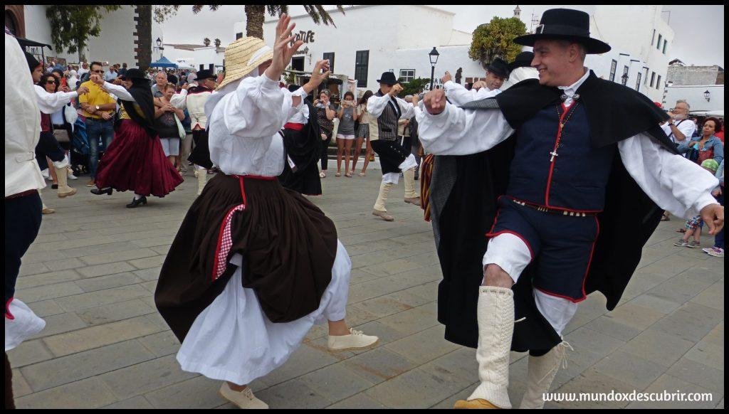 Baile tradicional Lanzarote