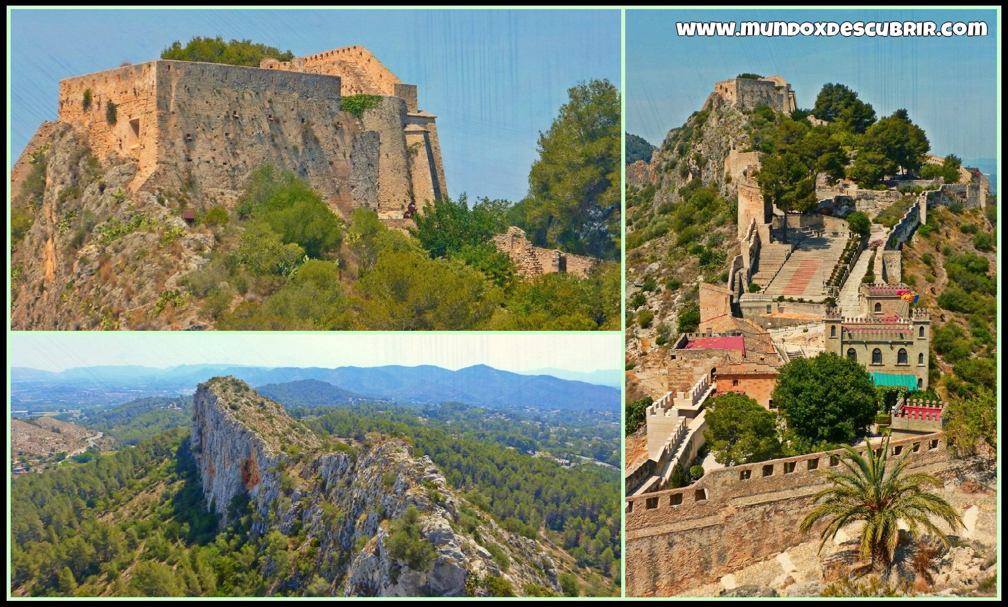 Castillo de Xtiva Doble Fortaleza de origen Ibrico