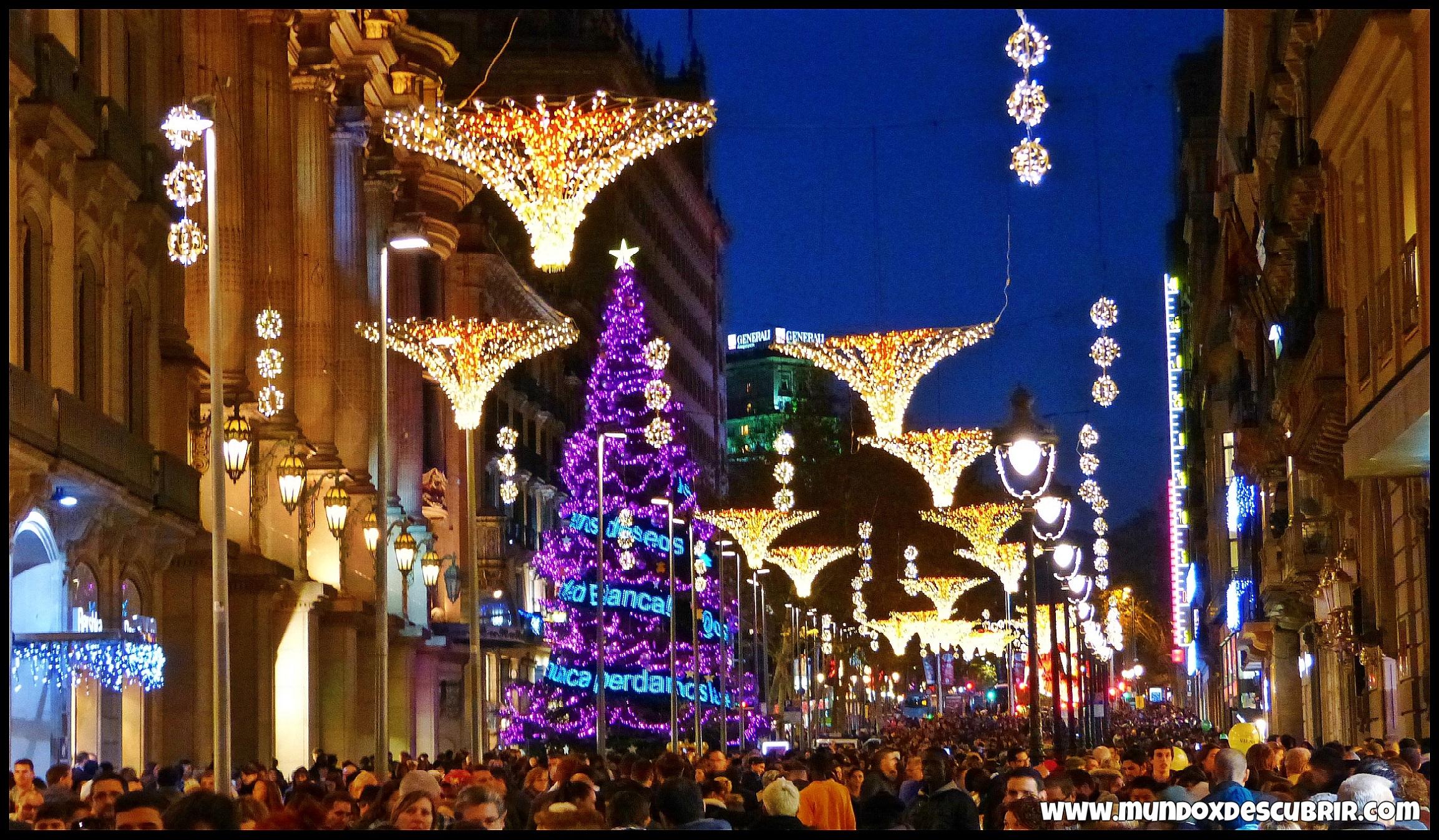 10 cosas que hacer en barcelona en navidad 4 v deos for Cosas decorativas para navidad