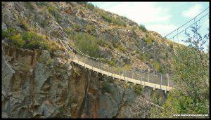 Ruta de los Puentes Colgantes de Chulilla (Valencia)