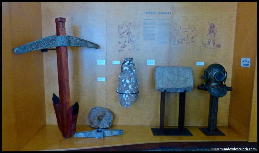 objetos del museo del mar