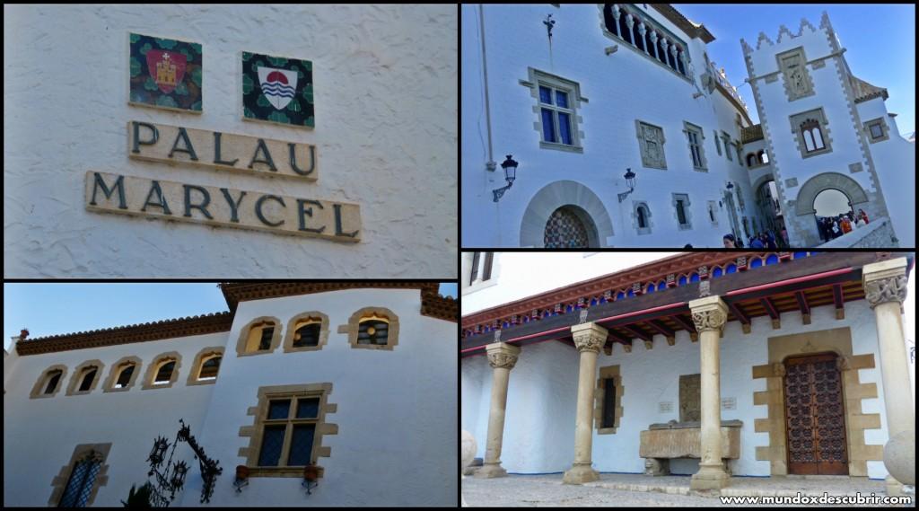 Collage palacio Mar i Cel