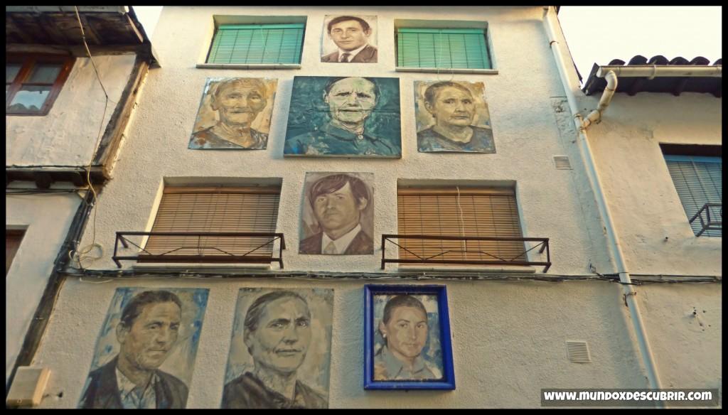 el pueblo de los retratos salamanca