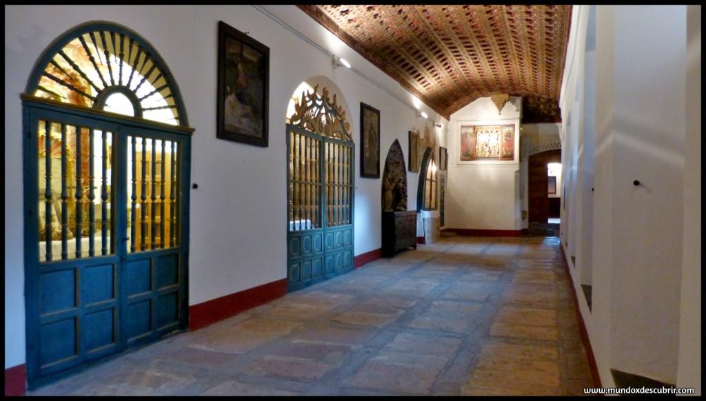 Claustro del Monasterio San Antonio El Real - Segovia - Castilla y León - España