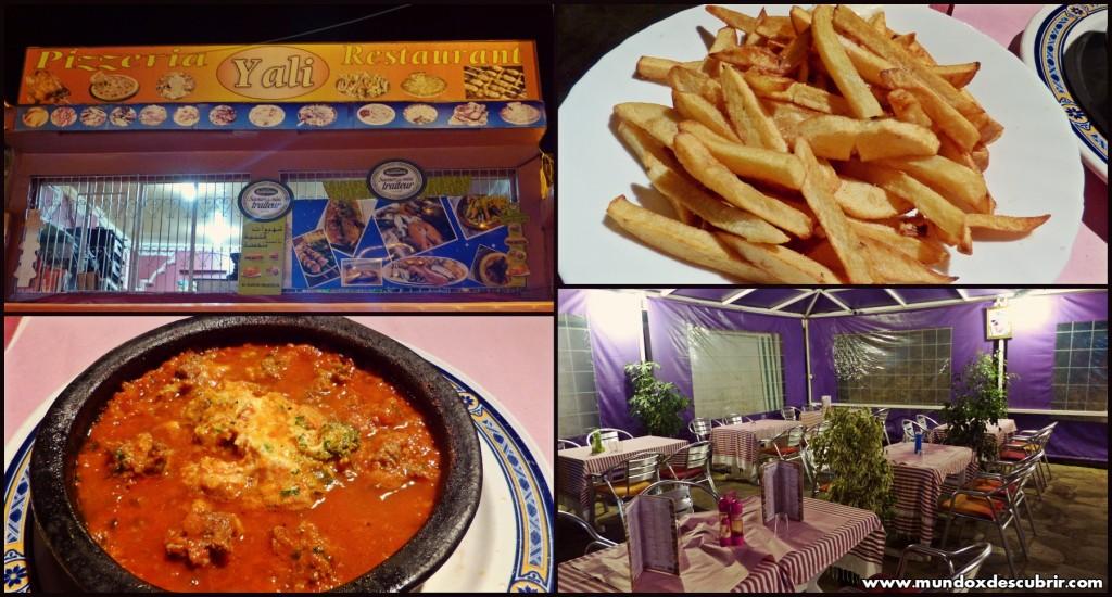 Collage restaurante Yali