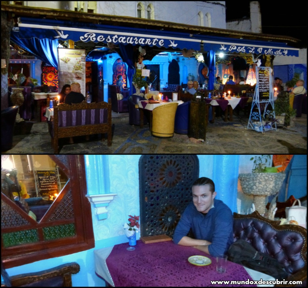 Collage restaurante paz 1