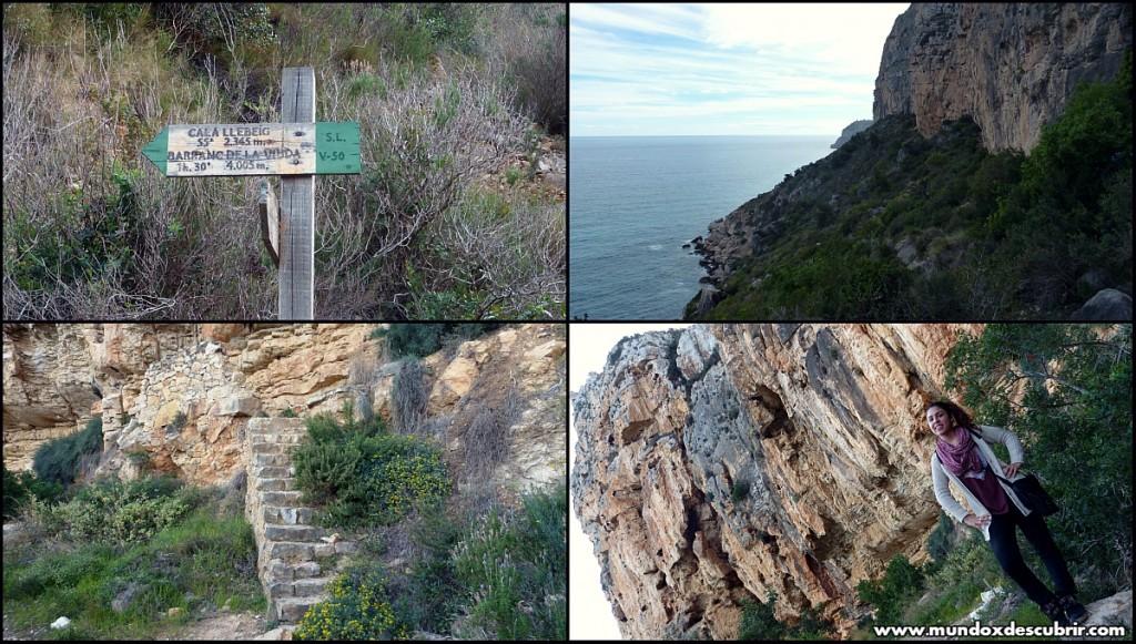 Collage ruta acantilados