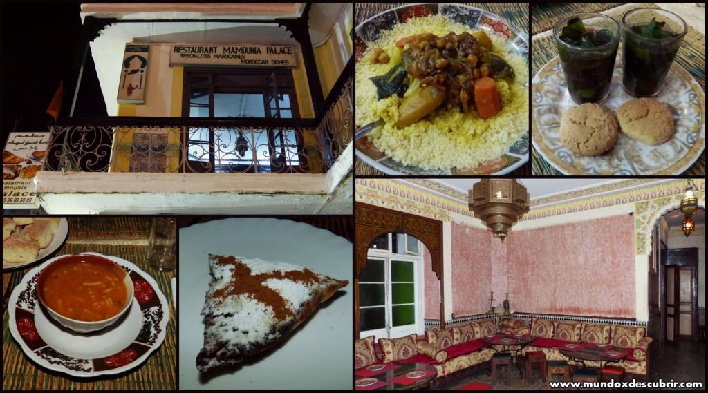 cena restaurante moumaina