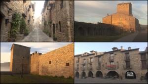 Aínsa, capital del Sobrarbe en Huesca