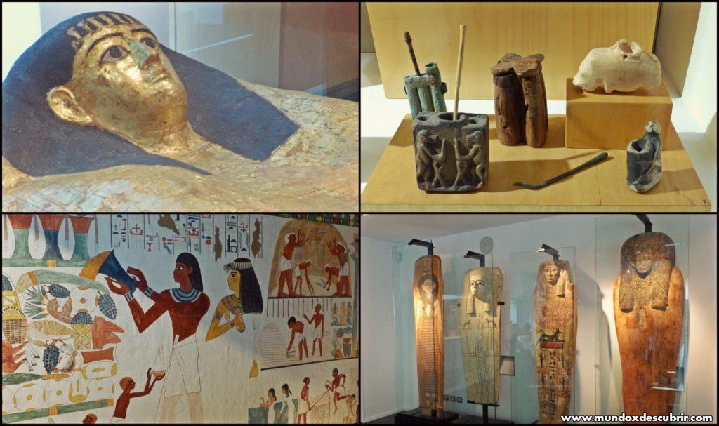 museo egipcio collage
