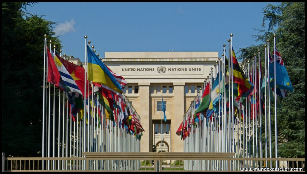 Sede de las Naciones Unidad - Ginebra - Suiza