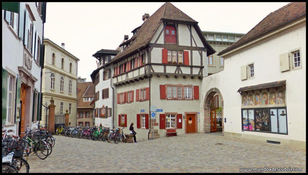 calles y casas de Basilea