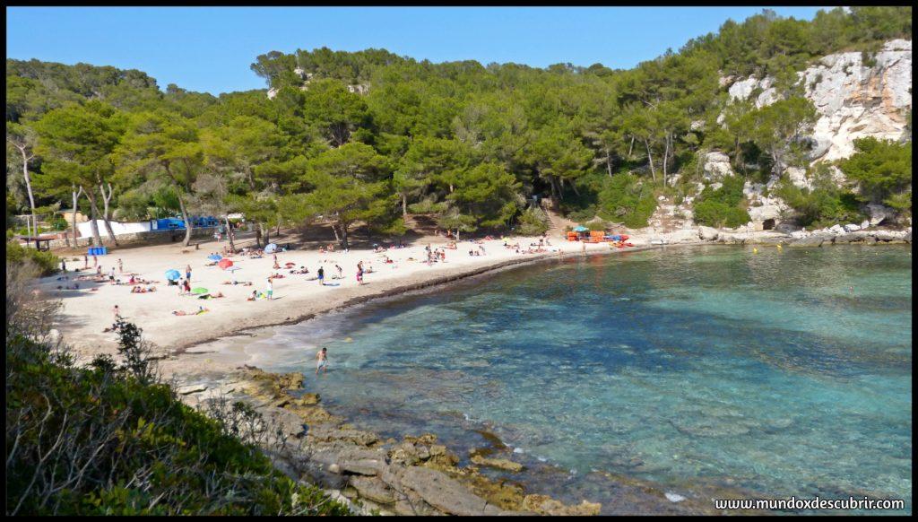 playas y calas más bonitas qué ver en Menorca