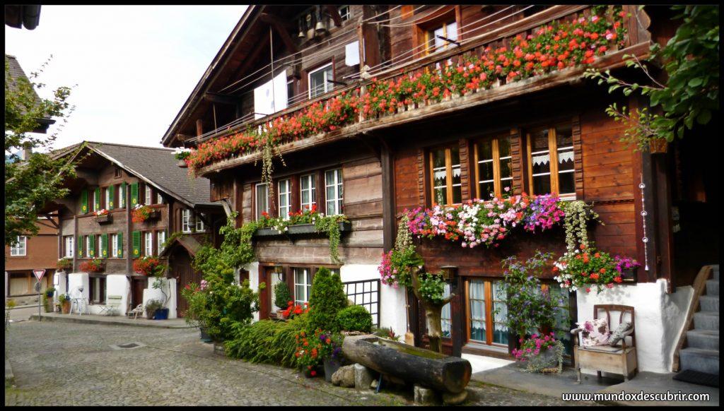 pueblos alpes suiza