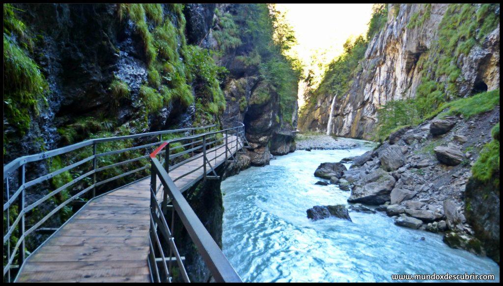 rutas de pasarela en suiza