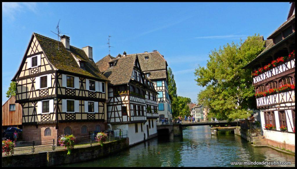 fachadas de casas de colores estrasburgo