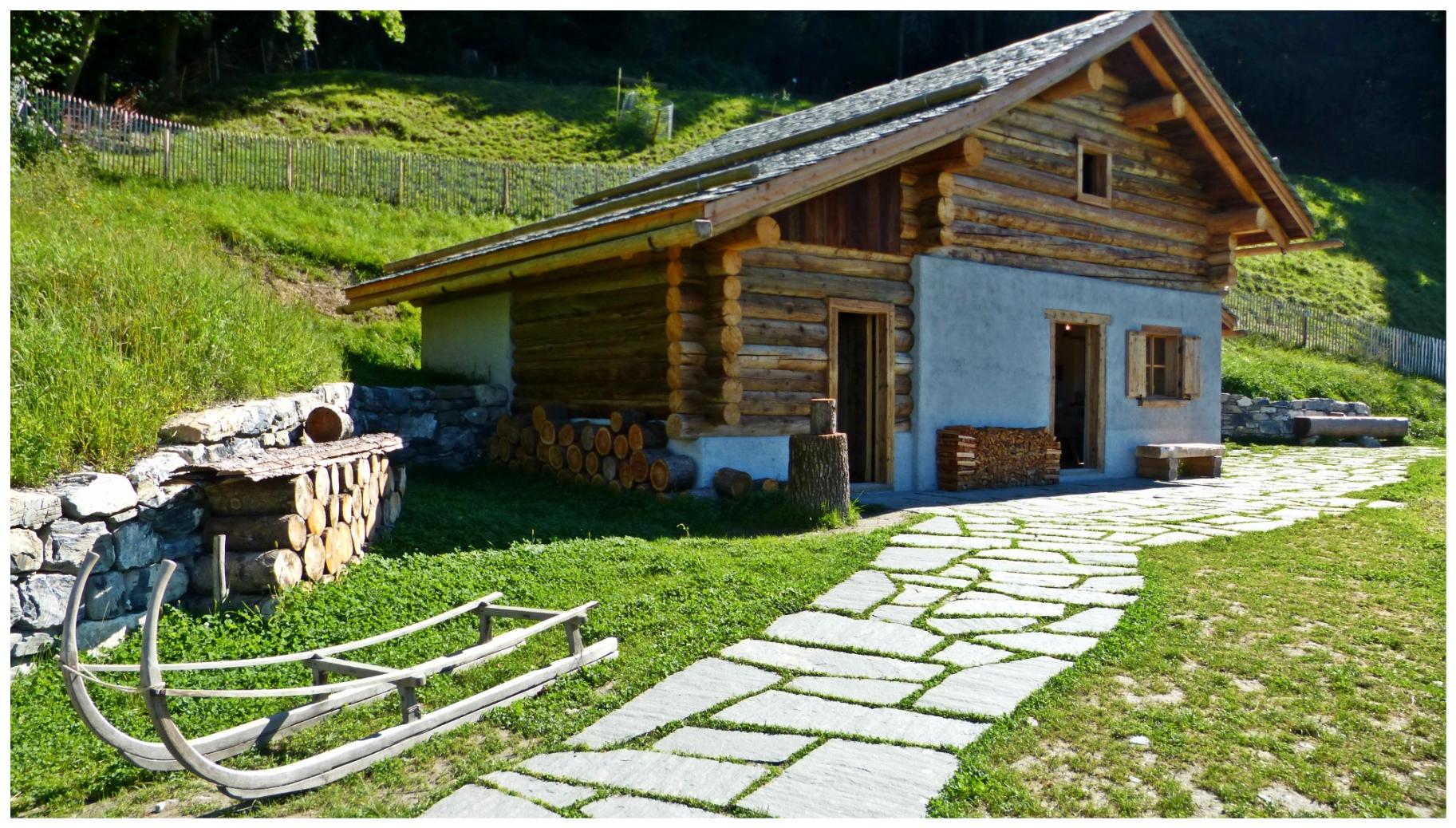 Heididorf el mundo de heidi en los alpes suizos mundoxdescubrir te lo vas a perder - Casas en los alpes suizos ...