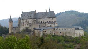 Castillo de Vianden, uno de los más bonitos de Europa