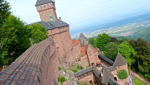 Castillo Haut Koenigsbourg de ALSACIA
