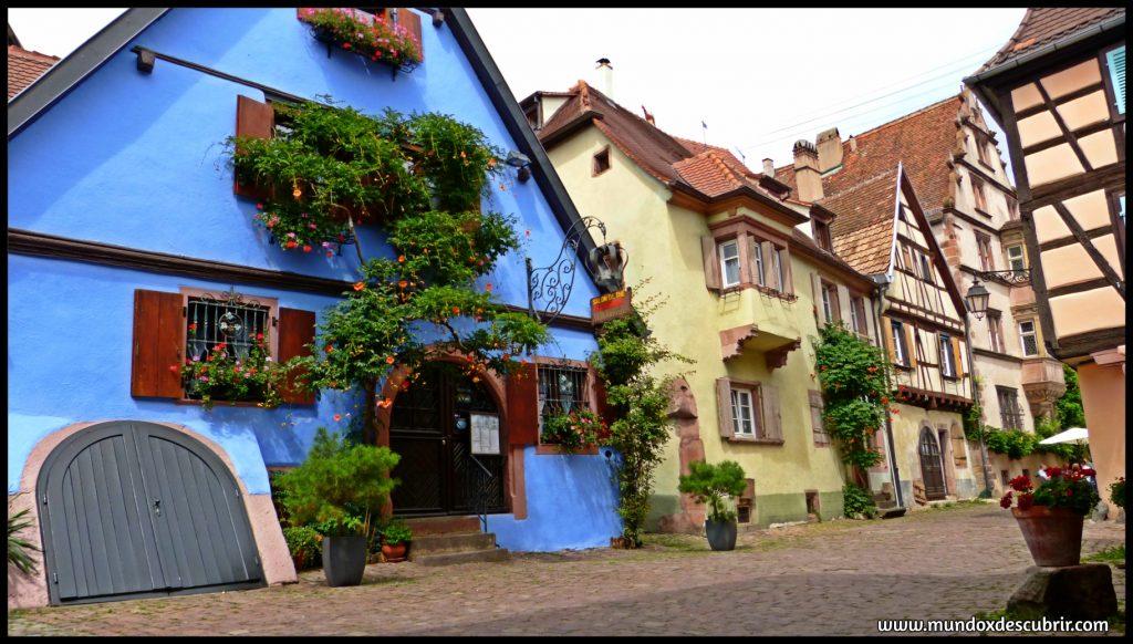 pueblos más bonitos Alsacia