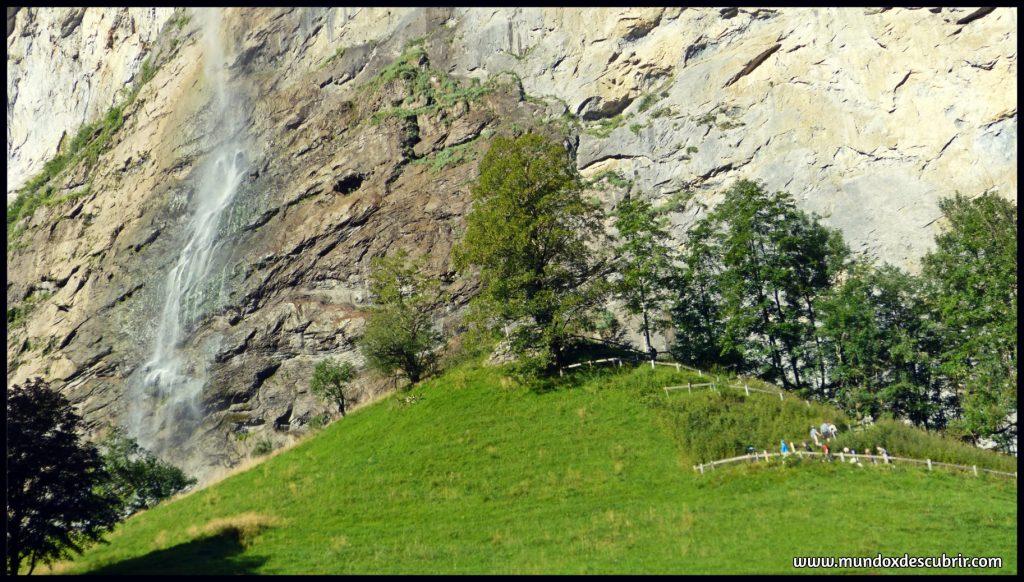 Cascada Staubbachfall