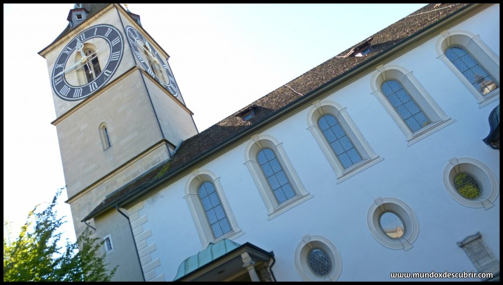 reloj St Peters Kirche Zurich