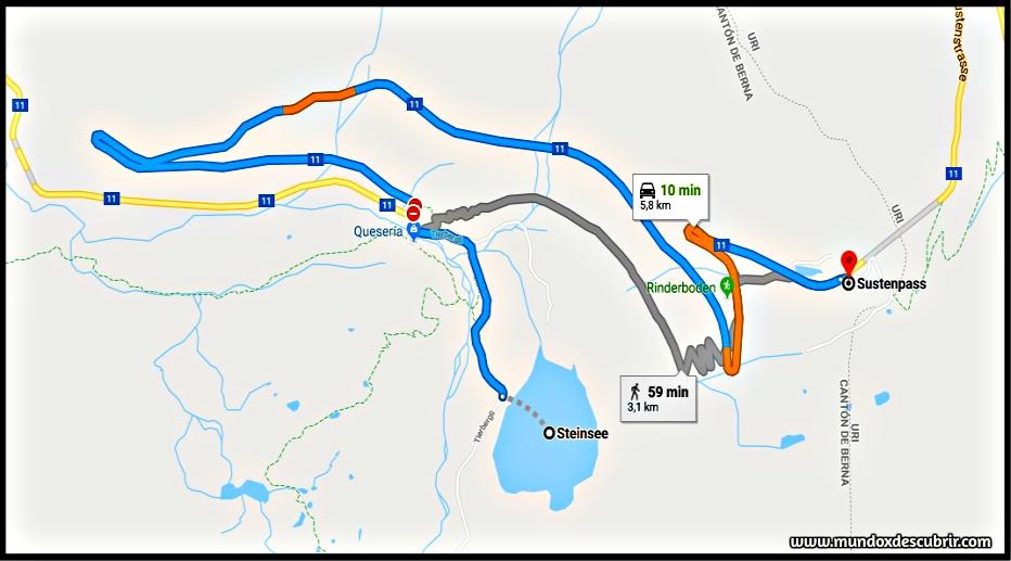 mapa alpes suiza