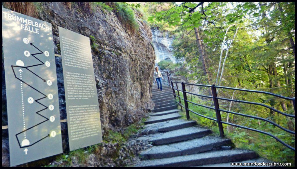Cascadas Trummelbach