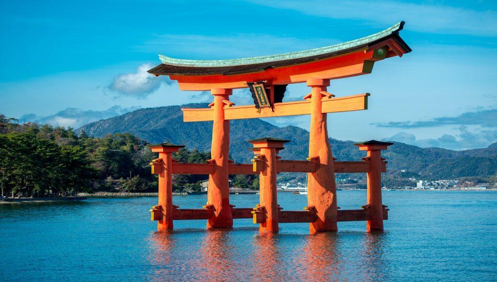 templos japón Tori