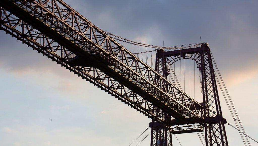puente colgante o puente portugalete