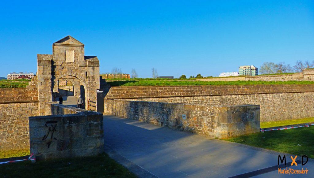 murallas de la ciudadela de pamplona