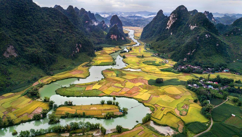 Paisajes Vietnam