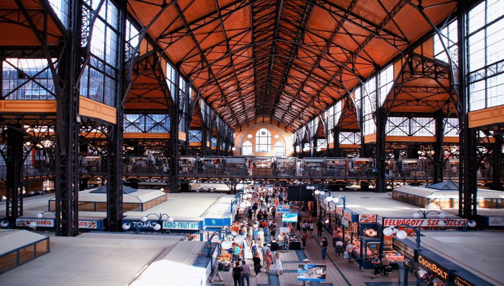 Budapest mercados