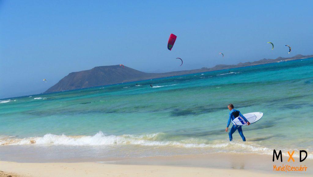 Kitesurf y windsurf fuerteventura
