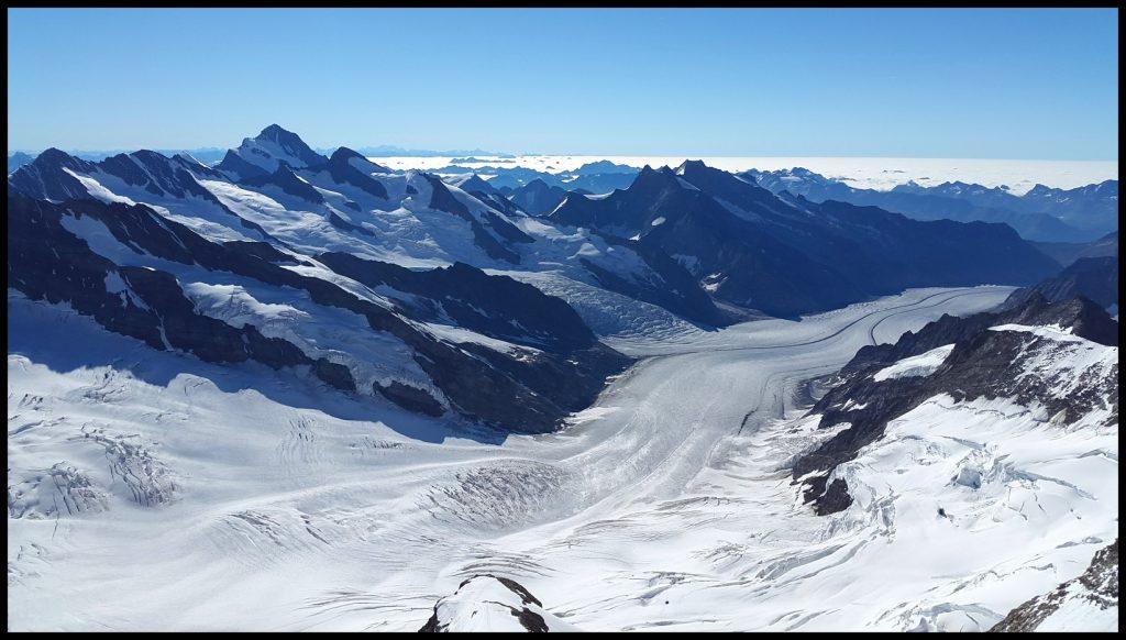 glaciar alpes suiza
