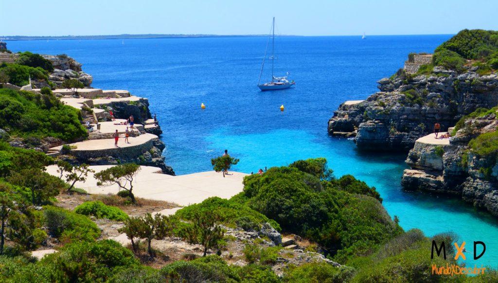 calas más bonitas Menorca