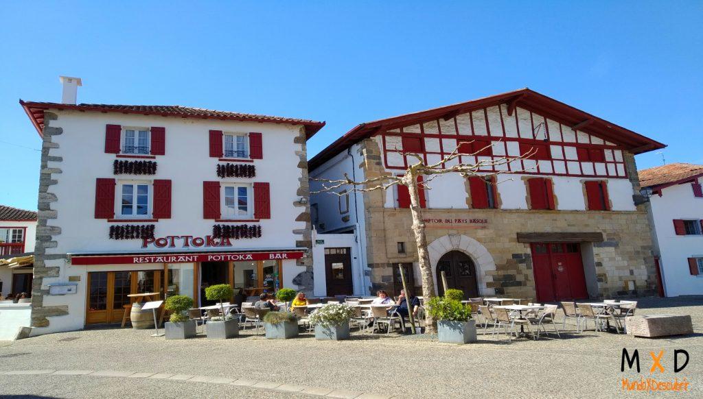 pueblo pais vasco francés espelette