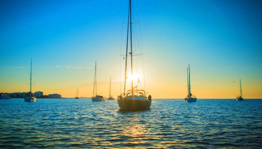Ibiza puesta de sol