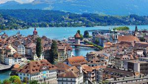 Itinerario de viaje un fin de semana en LUCERNA (Swiss Travel Pass)