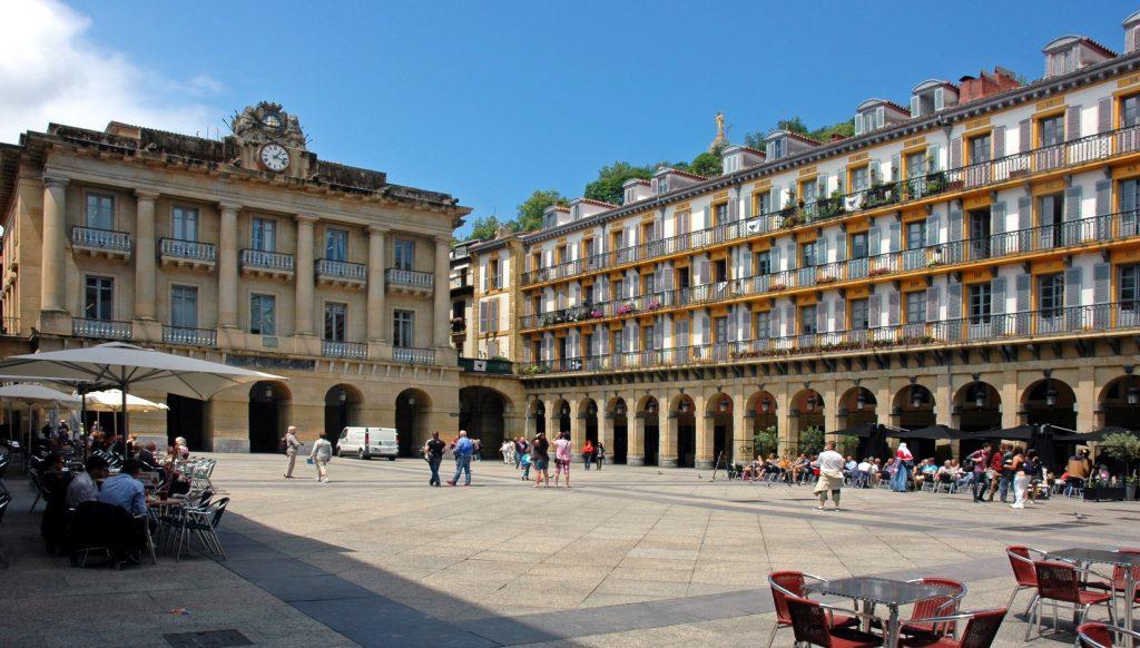 casco histórico San Sebastián